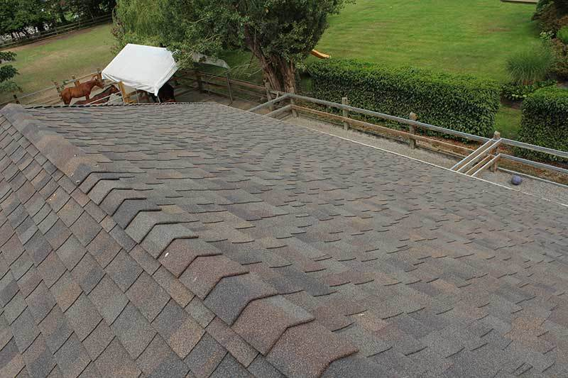 home roof asphalt shingles repair replace