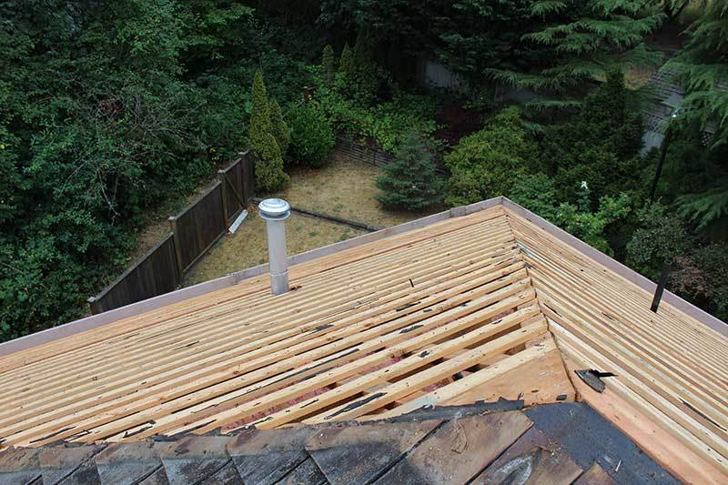 replace shingle roof in Vancouver