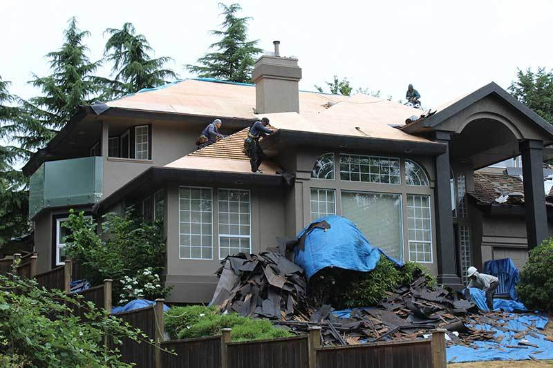 Vancouver Home shingle roof replace