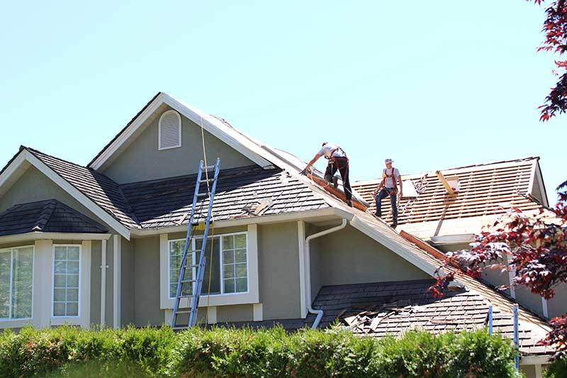 Vancouver house shingle roof replacement
