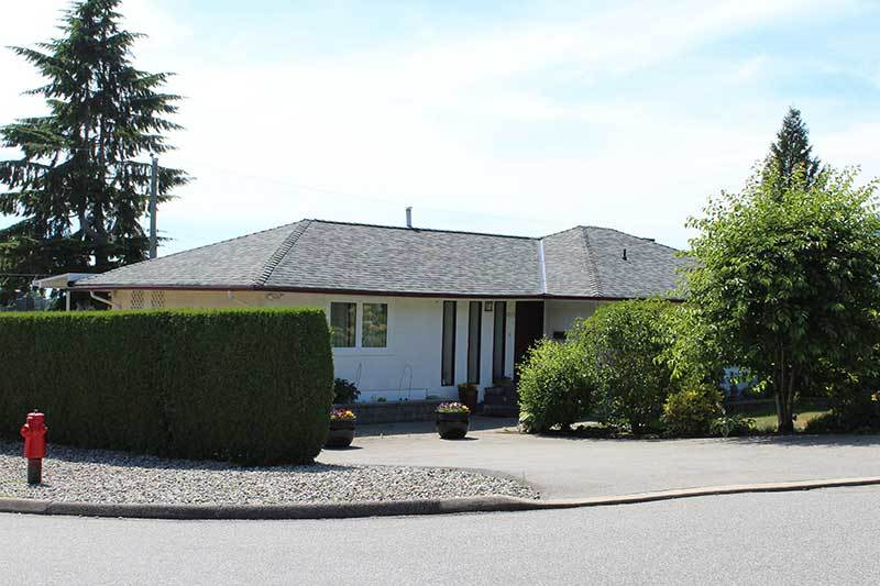 completed roofing project Vancouver shingle