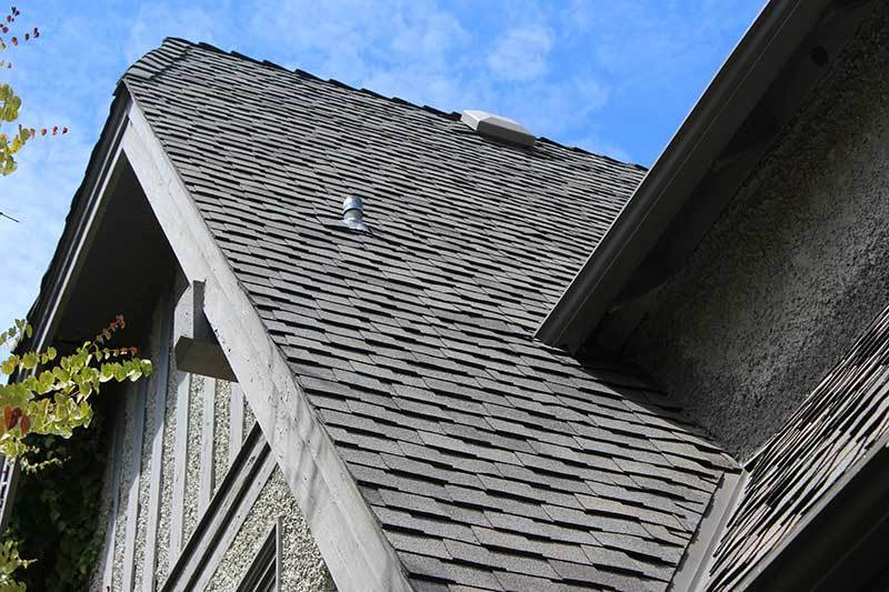 steep slope asphalt roofing