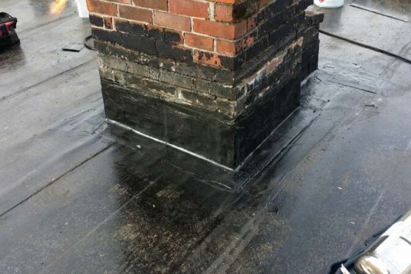 roof chimney watertight seal