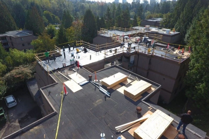 multi dwelling roof repair vancouver