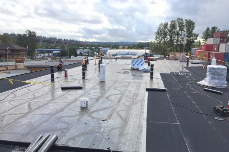 Flat roofing contractor vancouver