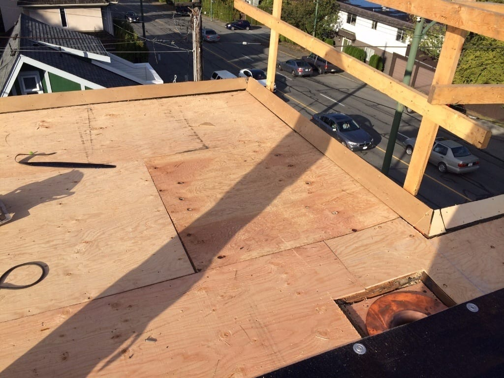 commerce roof leak repair