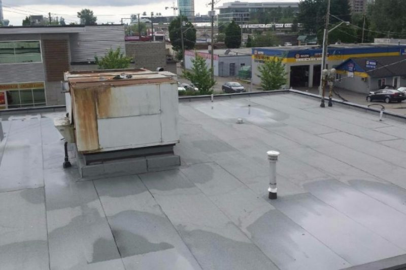 New commercial roof project