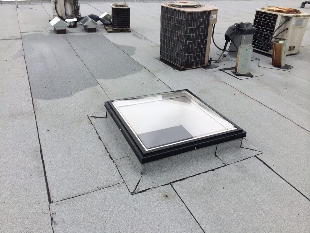 flat roof repair for commerce