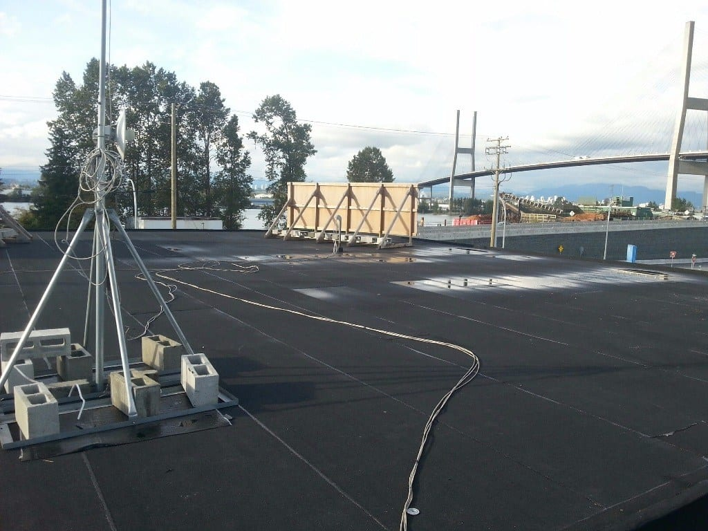 flat commercial roofing
