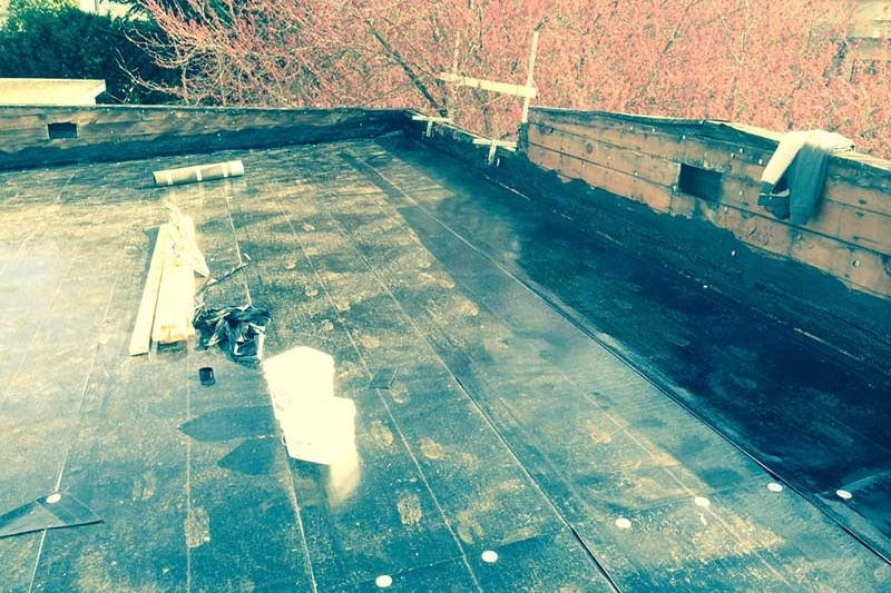 flat roof stripping and replacement