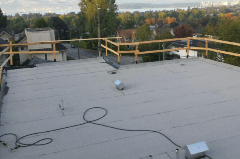 Vancouver flat roof replacement