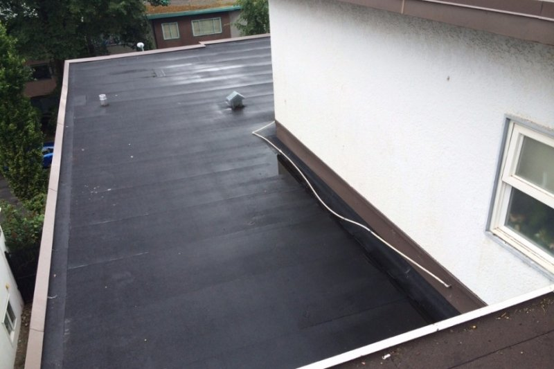Torch on roofing vancouver repair