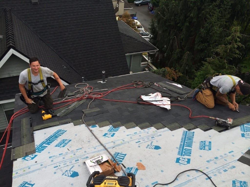 steep slope roofers Vancouver