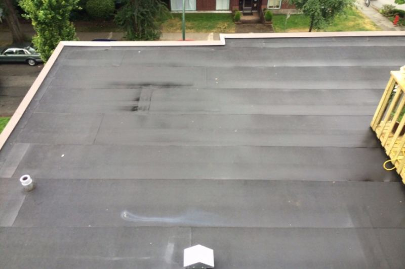 Torch on roof repair and replacement Vancouver