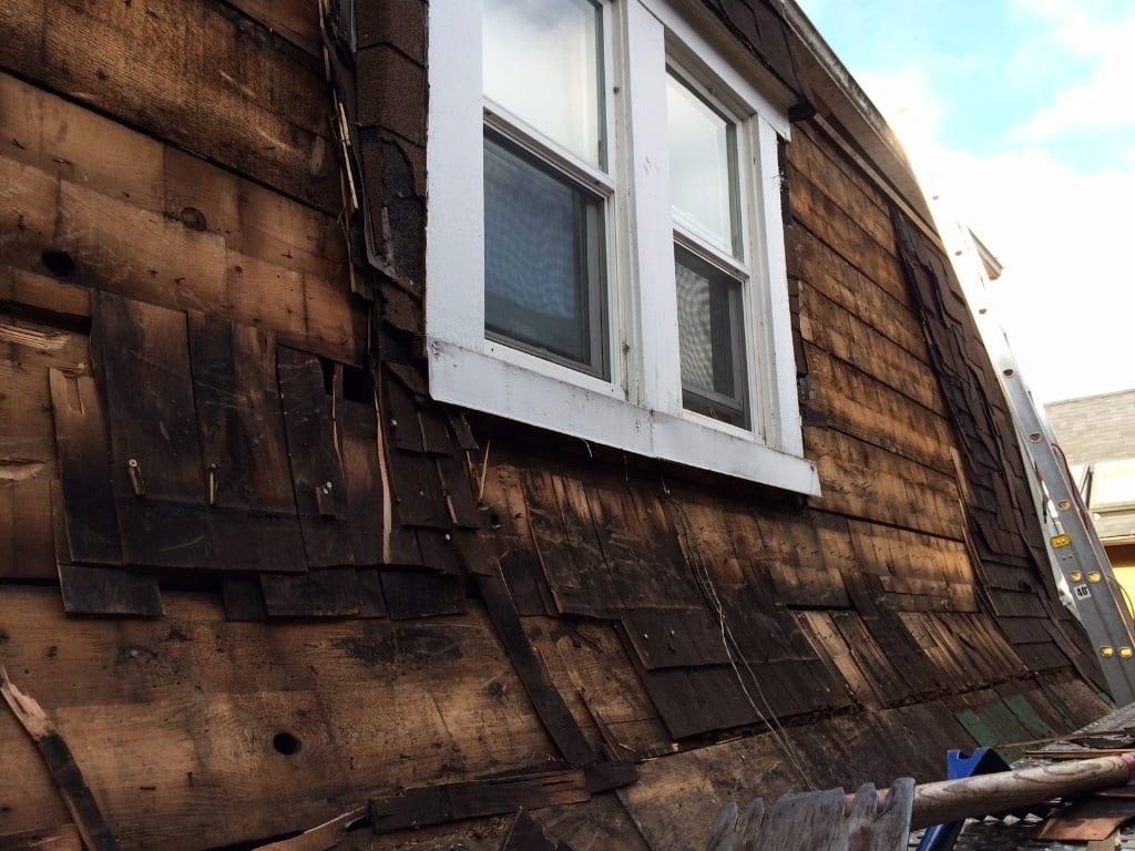 cedar roof replacement