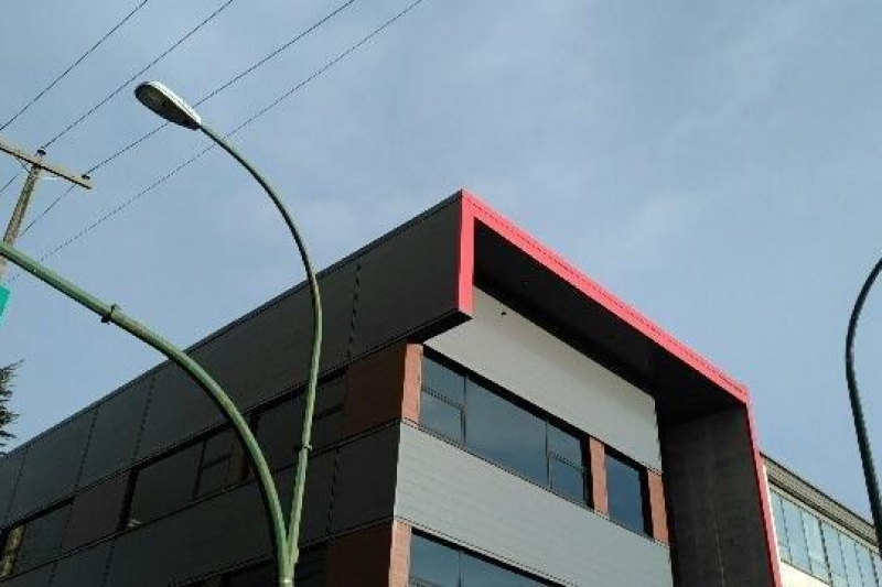 Metal sidewall cladding Vancouver bc