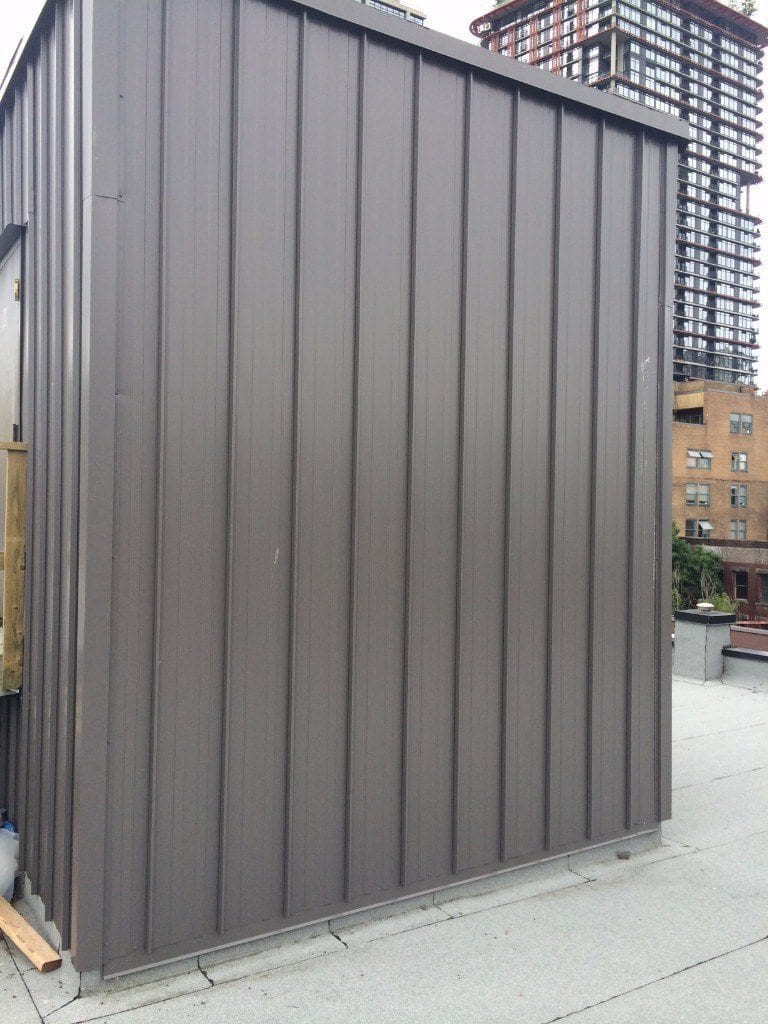 metal clad wall vancouver