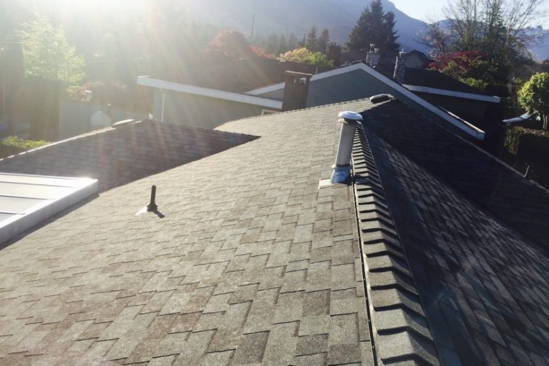 new shingle roof north vancouver