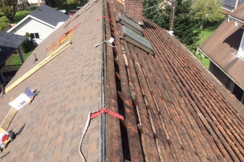 Steep slope roof stripping