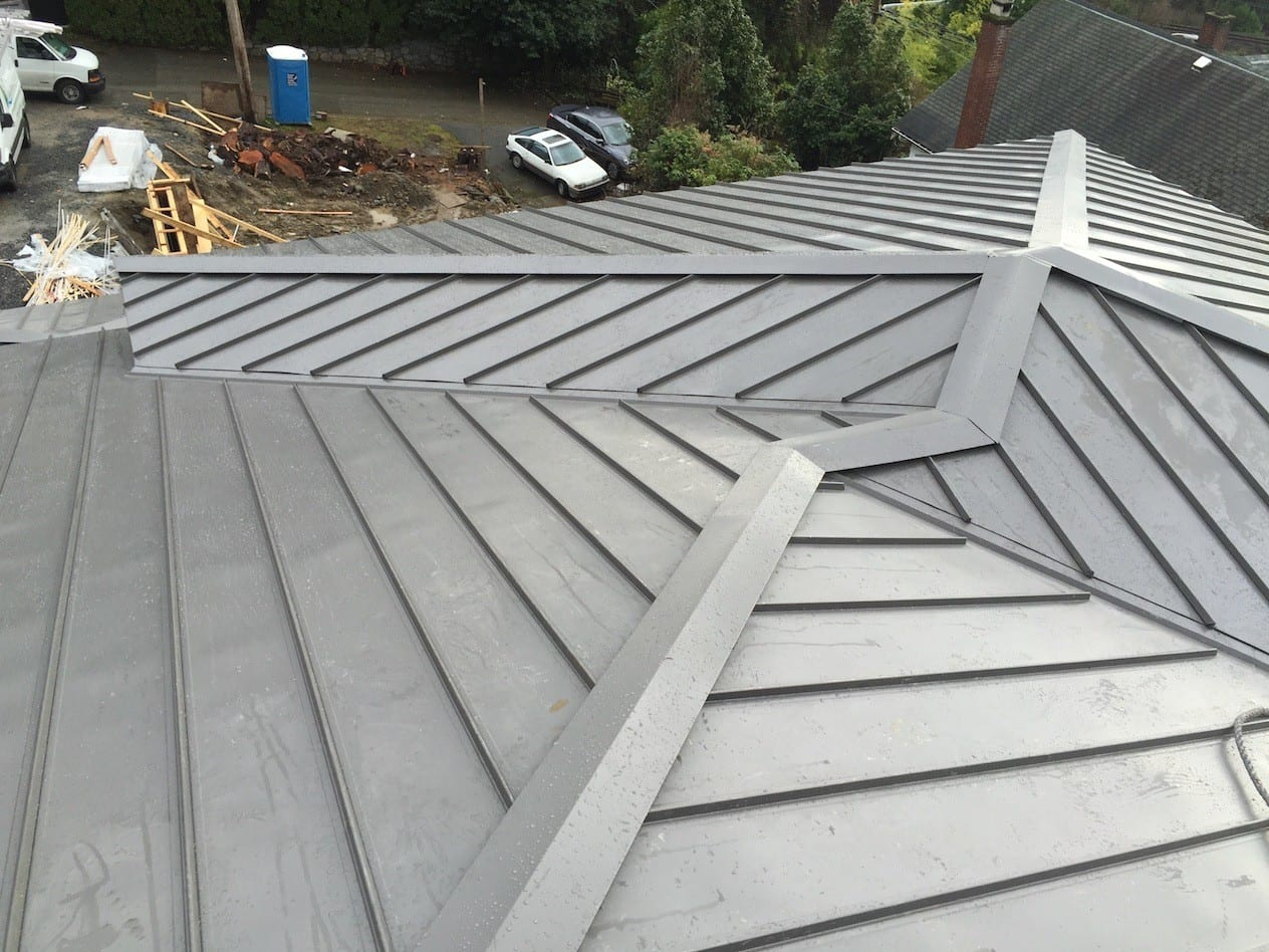 New Metal Roof Vancouver