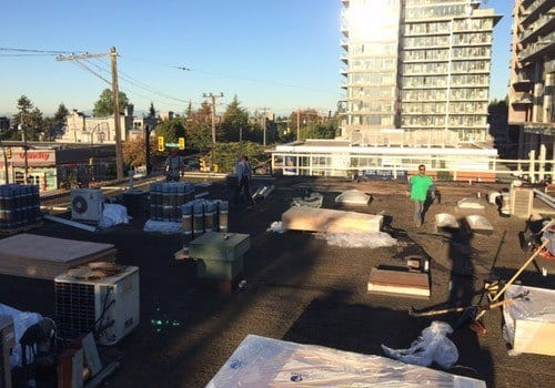 commercial roofing install replace roof