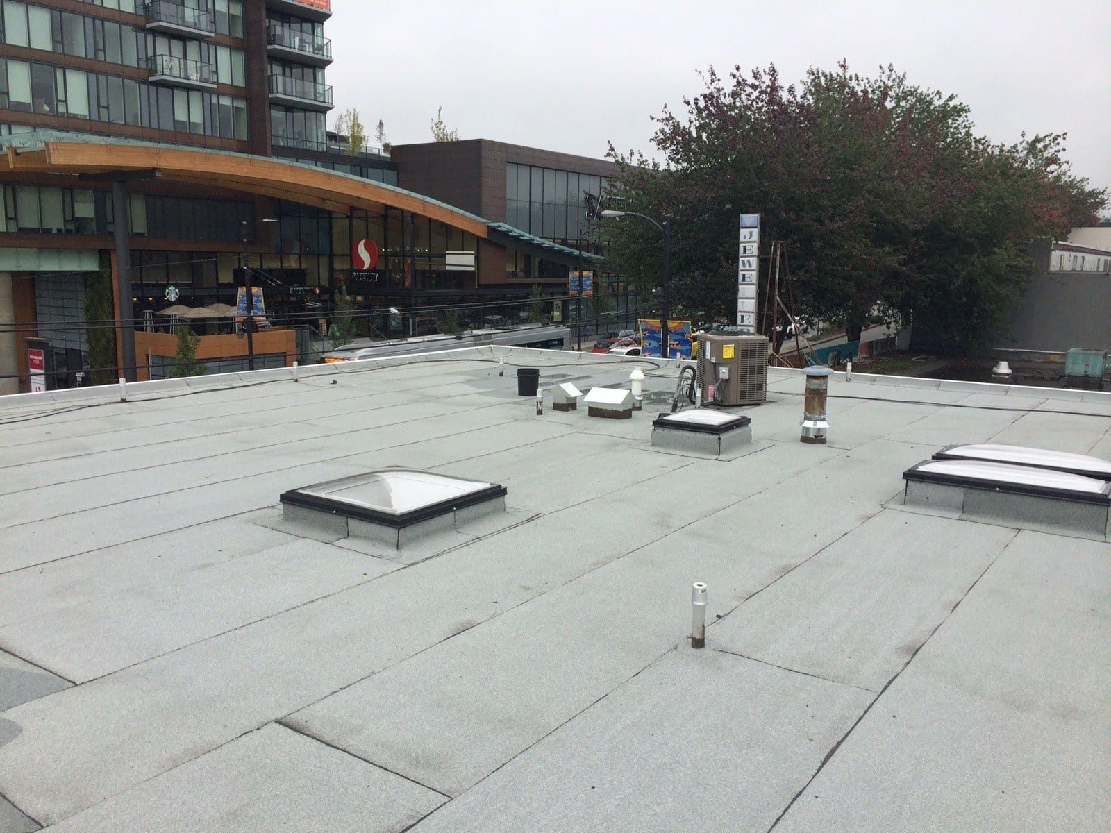 commercial roof in Vancouver