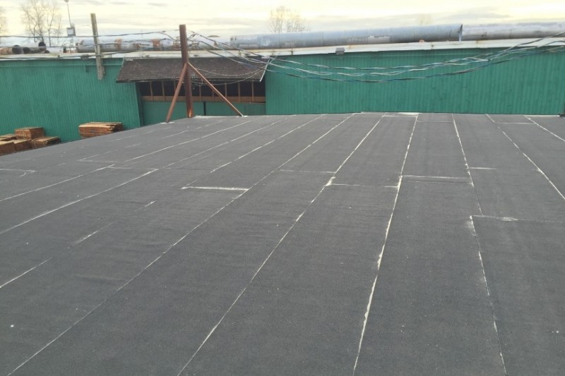 warehouse sbs roof repair reroof