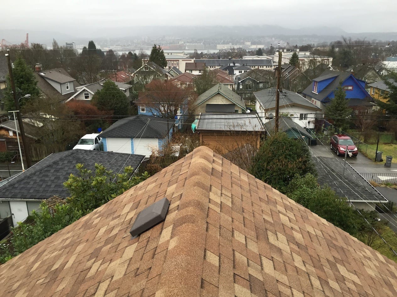 Shingle re roofing