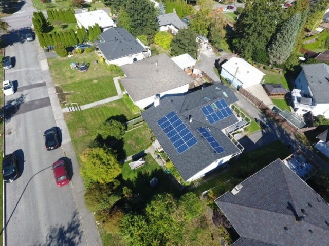 Solar panels roofing Vancouver BC
