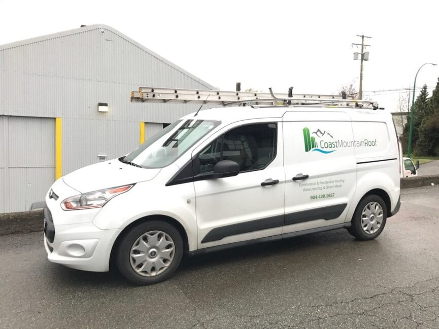 Roof Repair Van